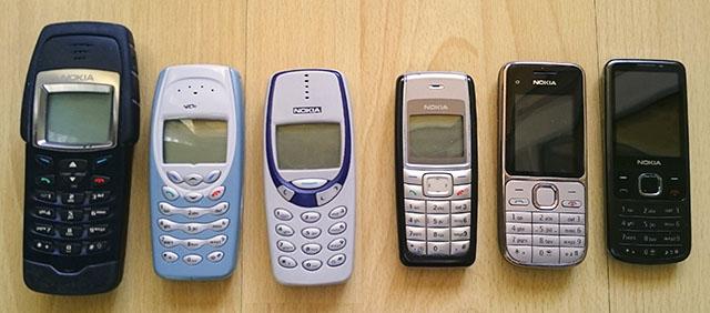 Handys alt Nokia