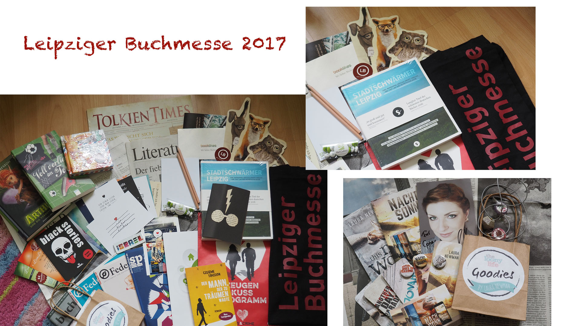 Goodies Leipziger Buchmesse