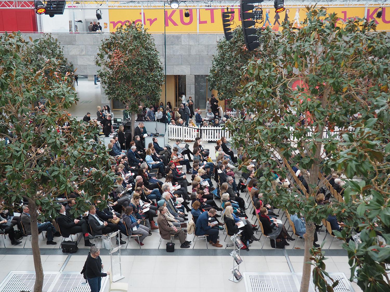 Verleihung des Leipziger Buchpreises Publikum