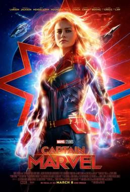 Captain Marvel Filmplakat